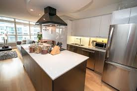 kitchen centre island tour of 550 quay west toronto ontario m5v 3m8