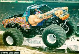 monster truck racing association samson