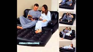 Air Sofa 5 In 1 Bed Air Lounge 5 In 1 Sofa Bed Youtube