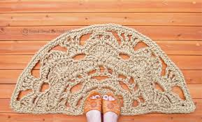 half moon doormat natural mat semicircle doormat