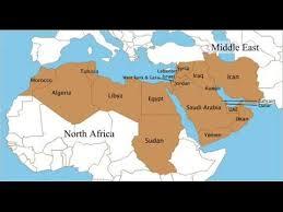 arab countries map arab countries