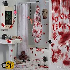 asylum halloween decorating ideas party city
