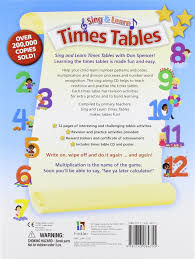 how to teach times tables sing and learn times tables amazon co uk 9781743084755 books