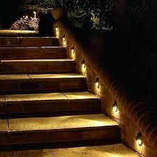 outdoor step lighting indoor stair lighting outdoor steps outdoor