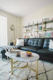 how to mix old and new furniture mix of old and new living room with black leather sofa lovely