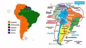 Language Map Of America by Language Diffusion In South America Youtube