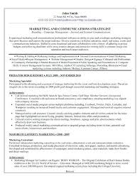 Digital Marketing Consultant Resume Sample Resume For Experienced Sales And Marketing Professional