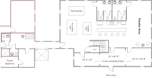 Church Fellowship Hall Floor Plans Beyind Imagination Capital Campaign Building Program