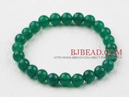 elastic bead bracelet images 8mm round green agate elastic beaded bracelet jpg