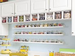 craft and sewing room storage and organization sewing room