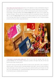 Wedding Cards Online India Benefits Of Choosing Unique Indian Wedding Card