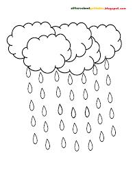 raindrop coloring page diaet me