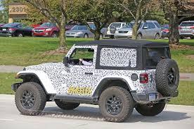 2018 jeep wrangler spy shots new spy shots of the jl wrangler rubicon photo u0026 image gallery