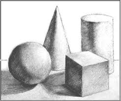 shape implies a three dimensional definition that indicates