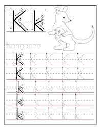 letter k worksheets for preschool preschool and kindergarten
