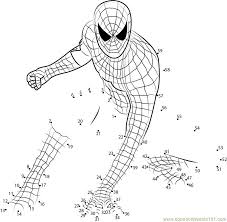 coloring pages superhero printables spiderman worksheets 101