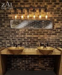 rustic bathroom lighting pinterest doorje
