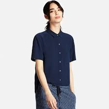 rayon blouse rayon sleeve blouse uniqlo