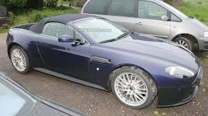 aston martin vantage v12 aston martin vantage v12 roadster spotted for first time