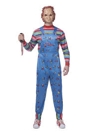 mens costume chucky plus size costume for men