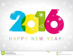 2016 new year card stock vector image 59189866