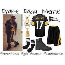 Drake No New Friends Meme - drake dada meme halloween costume polyvore