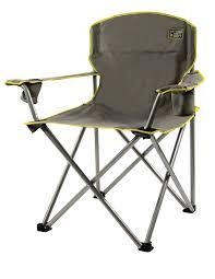 amazon com quik chair heavy duty folding camp chair grey