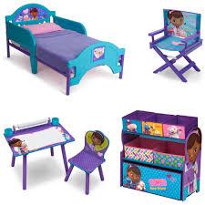 Toddler Desk Set Doc Mcstuffins Toddler Bed Bedroom Set Toy Box Kids Furniture Desk