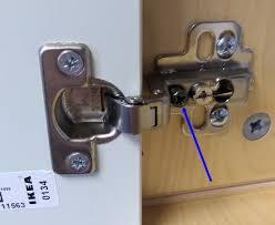 kitchen cabinet door hinges b q kitchen cabinet door doesn t stay open home improvement