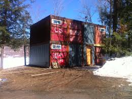 shipping container house near ludlow vt u2013 gearplug