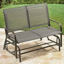 Glider Porch Furniture Best Cast Aluminum Porch Glider Chair For Single Person