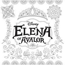 kids n fun com 44 coloring pages of elena of avalor