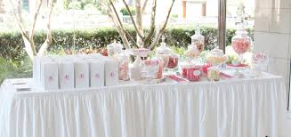 candy table for wedding a pink and white wedding candy table sweet style