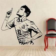 online get cheap sports wall sticker neymar aliexpress com