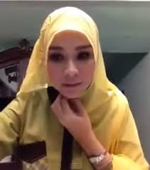 tutorial hijab paris zaskia tutorial memakai hijab paris ala zaskia adya mecca