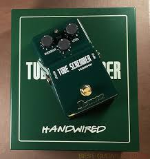 ibanez ts808hw hand wired tube screamer review u2013 best overdrive pedal