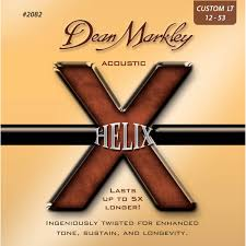 Light Guitar Strings by Dean Markley 2082 Helix Acoustic Guitar Strings Dm2082 B U0026h Photo