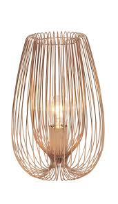 jonas brown copper wire table lamp copper wire lights and