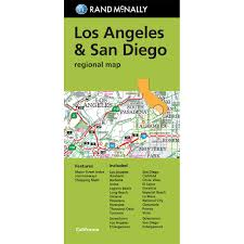 Los Angeles Street Map by Los Angeles U0026 San Diego Regional Map