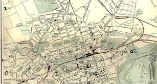 map of roads edinburgh maps 1884 roads and railways zoom in to the