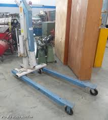 Otc Floor Crane by Otc Engine Hoist Item De9338 Sold November 7 Government