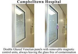 Integral Venetian Blinds Double Glazed Venetians Double Glazed Venetian Blinds Crown