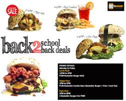 backyard burgers back 2 back2back deals davao burgers at