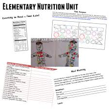 Nutrition Facts Label Worksheet Food And Nutrition Unit Teach Beside Me
