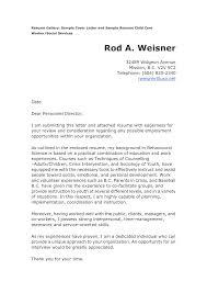 sample cover letter for social work resume social worker cover