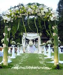 Garden Wedding Ceremony Ideas Decoration In Garden Wedding Decor Ideas 15 Cheap Wedding Ceremony