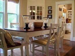 kitchen adorable distressed wood dining table modern dining