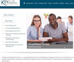 congrats on your new site key rehab web design development