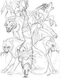 anime wolf coloring pages funycoloring
