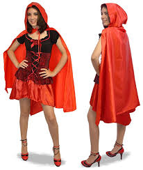 Queen Hearts Halloween Costume Women Amazon Red Riding Hood Cape Clothing